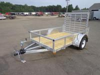 (989) 607-4841 ext.637 5' x 8' Open All Aluminum