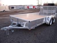 (989) 607-4841 ext.639 7' x 14' Open All Aluminum