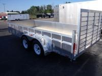 (989) 607-4841 ext.631 7' x 16' Open Aluminum Trailer