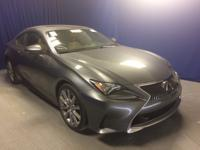 Trustworthy and worry-free, this Used 2015 Lexus RC 350