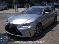 LEXUS CERTIFIED WITH THE F SPORT PACKAGE-NAVIGATION