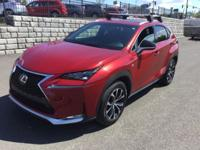 Lexus NX200t F SPORT! Loaded! Heated Leather. Heated