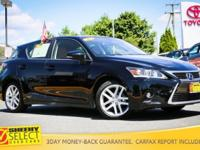 This Sheehy Select and VERY WELL EQUIPPED 2015 Lexus CT