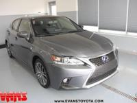 SILVER 2015 Lexus CT 200h FWD Continuously Variable