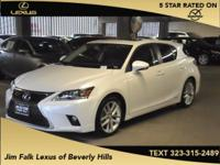 Options:  2015 Lexus Ct 200H|White|One Owner!! Wow!