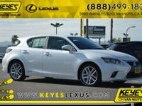2015 Lexus CT 200h CARFAX One-Owner. Concerned about