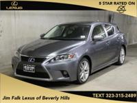 ONE OWNER!! Hybrid! What a price for a 15! This CT200H