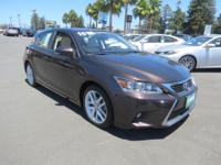 DRIVE FOREVER!! THIS LEXUS CT 200H COMES WITH A