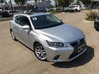 Options:  2015 Lexus Ct 200H|Silver|Wheels: 17 X 7.0