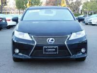 Options:  2015 Lexus Es 300H Hybrid|Black/Parchment|V4