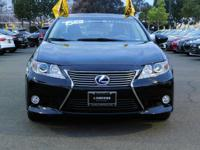 Options:  2015 Lexus Es 300H Hybrid|Black/Black|V4 2.5