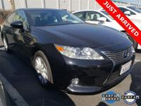 ** 2015 Lexus ES 300h LUXURY**,** Obsidian WITH BLACK