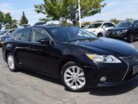 CARFAX One-Owner. Clean CARFAX. Black 2015 Lexus ES