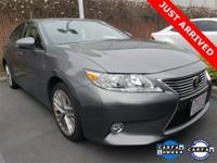 2015 Lexus ES 350 LUXURY Nebula Gray Pearl Black