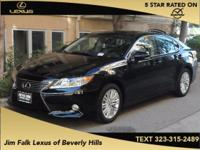 LOW MILES-ONE OWNER!!  This ES350 was leased new and