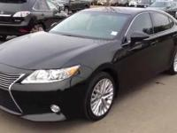 2015 Lexus ES 350. Parchment Leather. Actual miles.