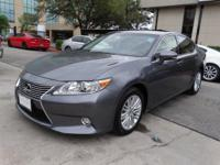CARFAX 1-Owner, ONLY 7,344 Miles! ES 350 trim. EPA 31