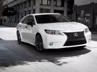 2015 Lexus ES 350 Crafted Line. Black Leather. The sum