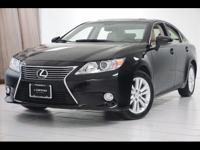 2015 Lexus ES 350 Finished with Obsidian exterior and