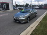 This outstanding example of a 2015 Lexus ES 350 Crafted