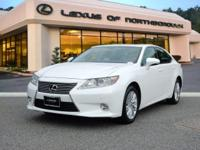 2015 Lexus ES 350 in Starfire Pearl, SUNROOF /