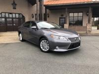 Get new car value at used car prices with the Lexus ES