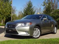 CARFAX One-Owner. Certified. Silver 2015 Lexus ES 350