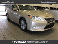 2015 Lexus Certified ES 350 Navigation System, Luxury