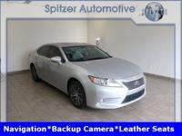 Lexus ES 350 Clean CARFAX. Clean Carfax, Back Up