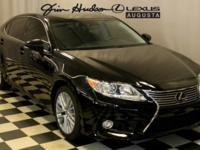 This 1 Owner, L/Certified 2015 Lexus ES 350 in Obsidian