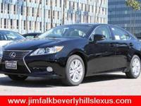 2015 Lexus ES 350, Black, eight Speakers,Am/fm stereo: