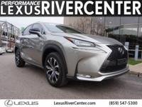 CARFAX One-Owner. Certified. Silver 2015 Lexus NX 200t