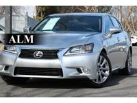 This 2015 Lexus GS 350 Base features a 3.5L V6 CYLINDER