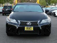 Options:  2015 Lexus Gs 350|Black/Cabernet|V6 3.5L