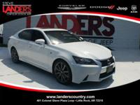 CARFAX One-Owner. Clean CARFAX. White 2015 Lexus GS 350