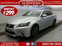 This Lovely Silver 2015 Lexus GS 350 Sedan Comes