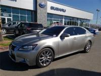 Options:  2015 Lexus Gs 350 4D Sedan|12 Speakers|Am/Fm