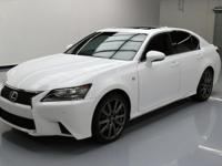 2015 Lexus GS with F Sport Package,3.5L V6