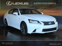 Certified. Clean CARFAX. F SPORT, Lexus Certified,