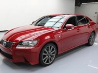 2015 Lexus GS with F-Sport Package,3.5L V6
