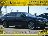 2015 Lexus GS 350 CARFAX One-Owner. Concerned about