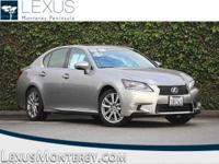 Lexus Certified, 3.5L V6 DOHC 24V, RWD, Atomic Silver,