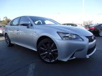 CARFAX One-Owner. Clean CARFAX. SILVER 2015 Lexus GS