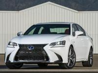 LOCAL TRADE IN!!! And 2015 Lexus GS 350 F Sport. F