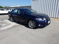CARFAX One-Owner. Clean CARFAX. Blue 2015 Lexus GS 350