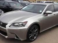 2015 Lexus GS 350. AWD and F-Sport Cabernet Leather.