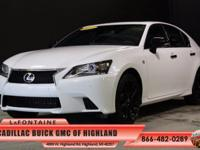 2015 Lexus GS 350 in Ultra White, One Owner Carfax,
