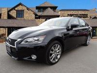 ONLY 9,378 Miles! Must See Obsidian AWD Lexus GS350