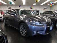Bold and beautiful, this 2015 Lexus GS 350 banished all