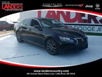 CARFAX One-Owner. Clean CARFAX. Black 2015 Lexus GS 350